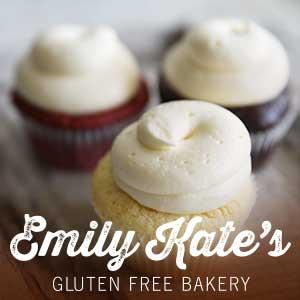 EmilyKate GLUTEN FREE Standard Cupcakes (Qty - 6) - SELECT ONE FLAVOR BELOW